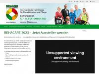 rehacare.de Webseite Vorschau