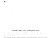 1ticket.de Webseite Vorschau
