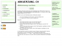 abkuerzung.ch