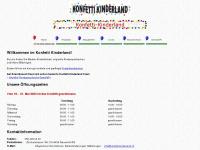 konfetti-kinderland.ch Webseite Vorschau