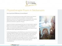 physiotherapie-kg.de Webseite Vorschau