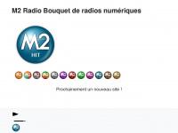 m2radio.fr Webseite Vorschau