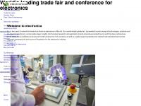 electronica.de Webseite Vorschau
