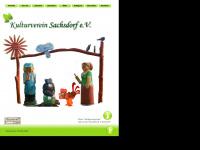 kulturverein-sachsdorf.de Webseite Vorschau