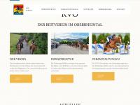 kv-oberrheintal.ch Webseite Vorschau