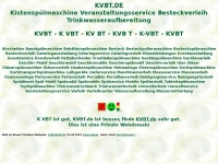 kvbt.de Webseite Vorschau