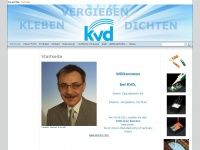 kvd-schmidt.de Webseite Vorschau