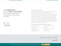 kvf-architekt.de Webseite Vorschau