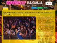 kvfaescht.ch Webseite Vorschau