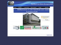 kvg-gs-laggenbeck.de Webseite Vorschau