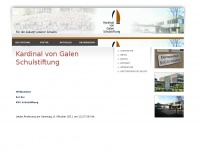kvgschulstiftung.de Webseite Vorschau