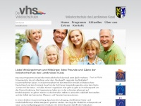 kvhs-kusel.de Webseite Vorschau