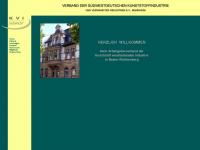 kvi-suedwest.de Webseite Vorschau
