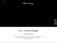 kvl-kunstdesign.de Webseite Vorschau
