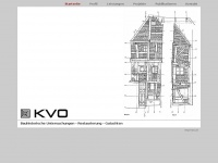 kvo-bauforschung.de Webseite Vorschau