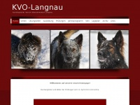 kvo-langnau.ch Webseite Vorschau