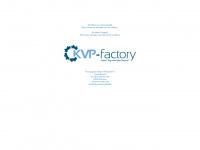 kvp-factory.de Webseite Vorschau