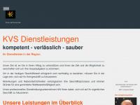kvs-gbr.de Webseite Vorschau