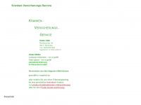 kvs-vergleich.de Webseite Vorschau