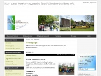 kvv-badwesternkotten.de Webseite Vorschau