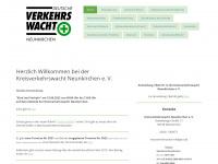 kvw-nk.de Webseite Vorschau