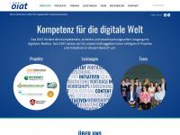 oiat.at Webseite Vorschau