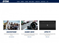 dtm.com Webseite Vorschau