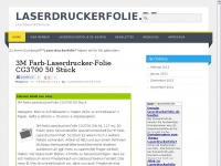 Laserdruckerfolie.de