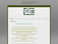 lederhosen-classics.de Webseite Vorschau