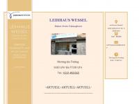 leihhauswessel.de Webseite Vorschau