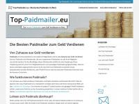 top-paidmailer.eu Webseite Vorschau