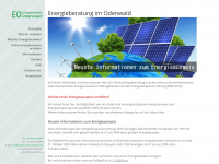 energieberater-odenwald.de Webseite Vorschau