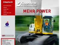 kipphardt.de Webseite Vorschau