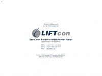 Liftcon-cranes.de