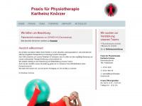 physiotherapie-knoerzer.de Webseite Vorschau