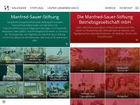 manfred-sauer-stiftung.de