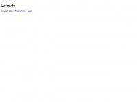 lo-ve.de Webseite Vorschau