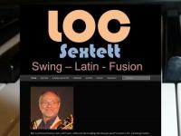 loc-jazz.de Webseite Vorschau