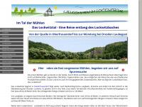 lockwitztal.de Webseite Vorschau