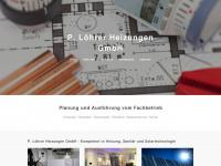 loehrerheizungen.ch Webseite Vorschau