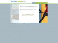 loeschermode.de Webseite Vorschau
