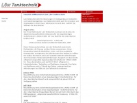 loew-tanktechnik.de Webseite Vorschau