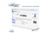 logcircle.de Webseite Vorschau