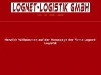 lognet-logistik.at Webseite Vorschau