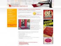 logomatten-werbematten.de Webseite Vorschau