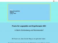 logopaedie-abc.de Webseite Vorschau