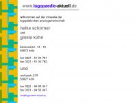 logopaedie-aktuell.de Webseite Vorschau