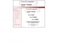 logopaedie-mangel.de Webseite Vorschau