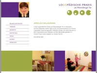 logopaedie-neuruppin.de Webseite Vorschau