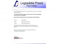 logopaedie-pfeiffer.de Webseite Vorschau